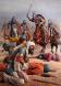Българите на кан Тервел разбиват арабите при Цариград, 717г.