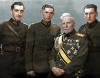 Генерал-лейтенант Владимир Вазов с тримата си синове