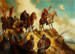 Цар Иван Асен II преди битката при Клокотница - 9 март 1230г.