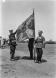 Знамето на 9-и пехотен Пловдивски полк на военен парад
