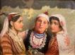 Три сестри - картина на Иван Мърквичка