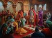 Кан Тервел в Константинопол