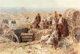 Бивак на българската войска в близост до превзетия Одрин, март 1913г.