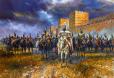 Конницата на кан Тервел пред Константинопол