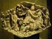 Барелеф на бог Митра