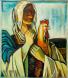 Българка - картина на Бенчо Обрешков