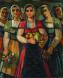 Българки - картина на Бенчо Обрешков