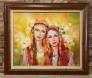 Българки - картина на Миглена Кирилова