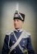 Борис Дрангов като младши офицер от 3-ти конен полк