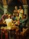 Братята Кирил и Методий заедно с техните ученици