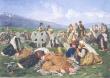 Задушница - картина на Иван Мърквичка