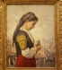 Българка - картина на Иван Мърквичка