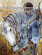 Българка - воин от Волжка България