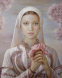 Българка - картина на Мария Илиева