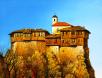 Гложенският манастир - картина на Бончо Асенов