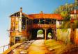 Преображенски манастир - картина на Бончо Асенов