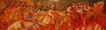 На мегдана - картина на Вили Николов