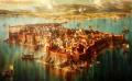 Тракийска Месемврия - картина на Васил Горанов