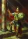 Тракийският цар Реметалк - картина на Васил Горанов