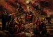 Заветът на кан Кубрат - картина на Васил Горанов