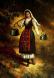 Българка - картина на Васил Горанов