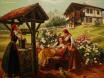 Българки - картина на Васил Горанов