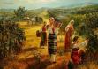 Гроздобер - картина на Васил Горанов