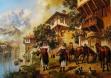 Охрид - картина на Васил Горанов