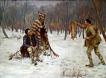 На лов - картина на Марин Георгиев